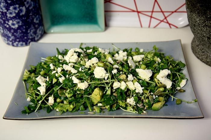 15 greens salad14