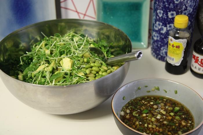 15 greens salad9