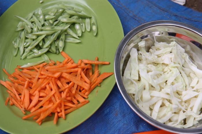 eclectic east veggies