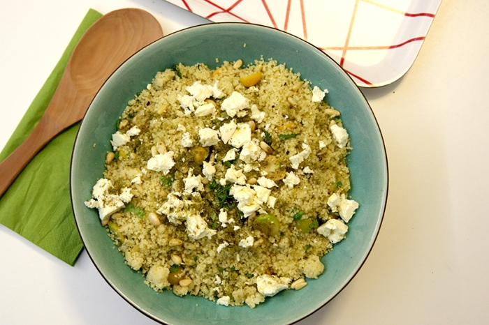 Chinese Gooseberry cous cous