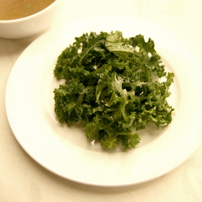 Kale and Garlic salad2