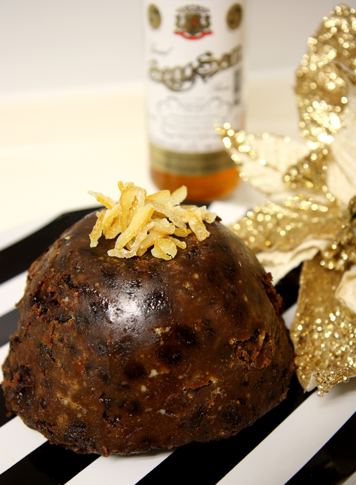 Eclectic East Christmas pudding